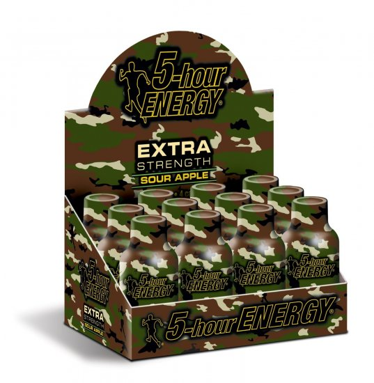 Sour Apple - 5 Hour Energy Extra Strength - Click Image to Close