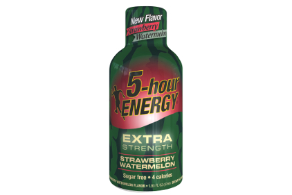 Strawberry Watermelon Extra Strength 5 Hour Energy Shots - Click Image to Close