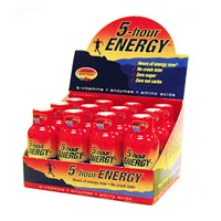 NEW!! 5 Hour Energy - Pomegranate - 12 Bottles - Click Image to Close
